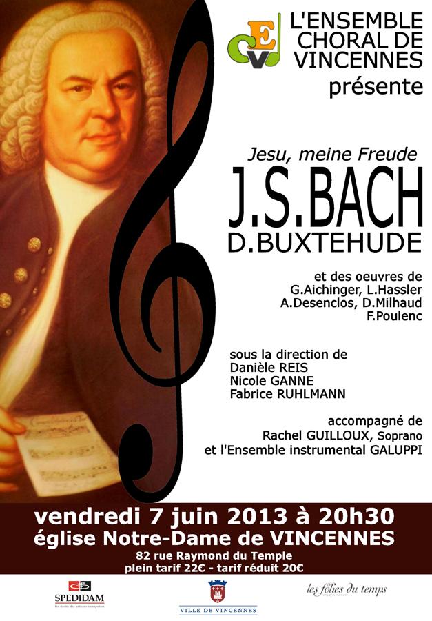 2013 Affiche Concert
