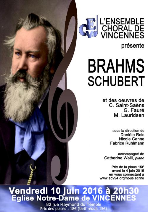 Concert de l'ECV, Vincennes, 10 juin 2016