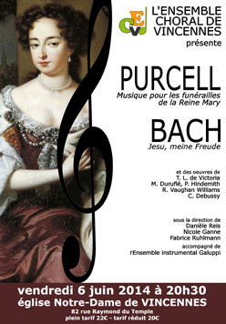 2014 Affiche Poster Purcell 6