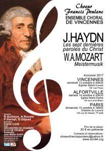 Concert Les sept dernières paroles du Christ, Haydn